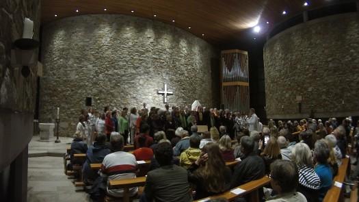 Gospelnacht 2017 Finale mit allen vier Chören
